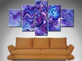 Xavier Alexander 5 Panel Canvas Print