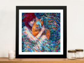 Foxglove Iris Scott Framed Wall Art