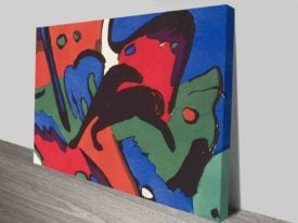 Marc and Wassily Kandinsky Blue Rider Print
