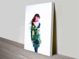 Glitter Art Canvas Art Print Photo