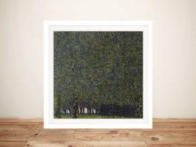 Framed Poster Art Print The Park by Gustav Klimt Australia