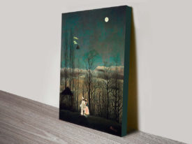 Henri Rousseau Carnival Evening Classical Wall Art On Canvas