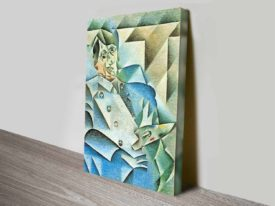 Portrait of Pablo Picasso Juan Gris Cubism Abstract Ready to Hang Art