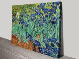 Irises By Van Gogh Canvas Print Australia Classical Wall Art On Canvas