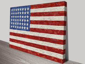 Jasper Johns Flag Vintage Pop Art