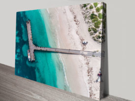 Lancelin Jetty Canvas Photo Print