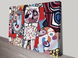 Le Malentendu Jean Dubuffet Vintage Pop Art Print