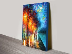 Love By The Lake Leonid afremov print