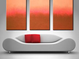 Mark Rothko 3 Panel canvas prints