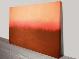 Mark Rothko Red Abstract Wall Art Print