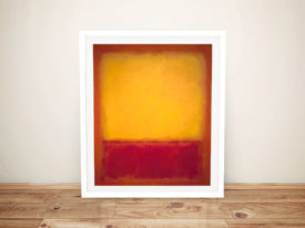 Mark Rothko Yellow over Purple Framed Wall Art Australia