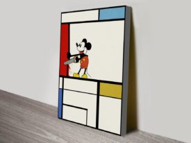 Mickey Mouse and Mondrian Final