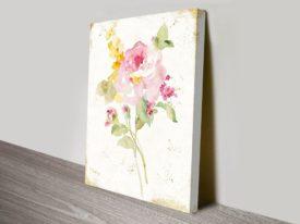 Midsummer Gold I Wall on Canvas Print Arts Online