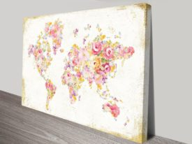 Midsummer World on Canvas Print Arts Online