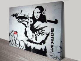 Mona Bazooka Banksy Prints