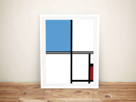 Mondrian Framed Wall Art Online Prints Australia