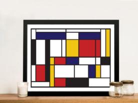 Buy Mondrian Tableau I Framed Wall Art Print