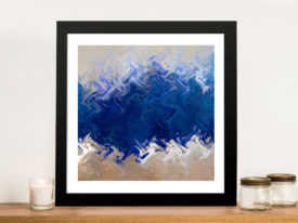 Ocean Creation Abstract Wall Print