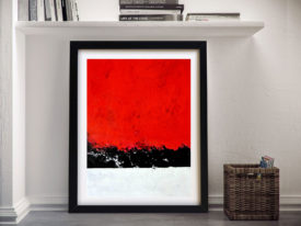 Abstract Framed Wall Art Painting Print