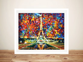 PARIS-OF MY DREAMS Framed Wall Art