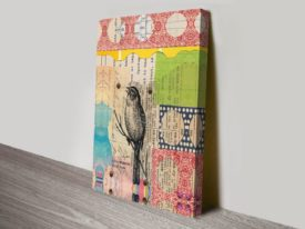 Perched Crop I on Canvas