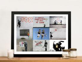 Banksy Collage Pictures Art Australia