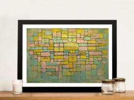 Piet Mondrian Tableau No.2 Composition V Wall Art Picture