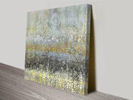 Rain Abstract III Art Work Print