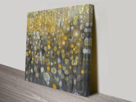 Abstract Rain VI Danhui Nai Art Print