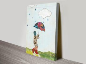 Rain and Wind III Canvas Print Arts Online