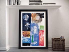 Rauschenberg Retroactive I 1964 Framed Wall Art