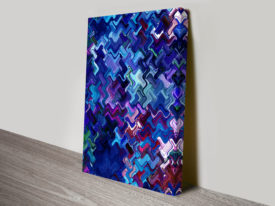 Retrospective Hedonism abstract Wall Art