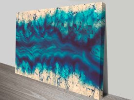river of earth cheap canvas print