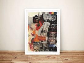 Robert Rauschenberg Estate Framed Wall Art Picture
