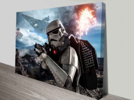 star wars battlefront canvas wall art