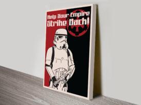 Star Wars Propaganda Poster Wall Art