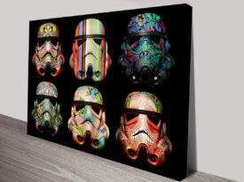 Star Wars Stormtrooper Canvas Wall Art