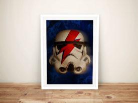 Ziggy Stardust StormTrooper Star Wars Wall Art