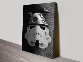 Death Star Trooper Star Wars Canvas Art Prints