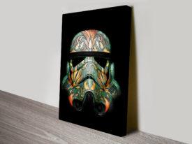 Stormtrooper Helmet Star Wars Art