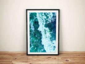 Avalon Surf Break Wannanup Framed Wall Art