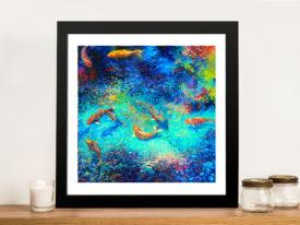 Ellipse by Iris Scott Framed Wall Art Pictures