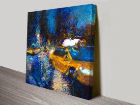 Sweet Glass Taxi Iris Scott Canvas Wall Art