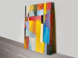 The Bridge abstract art