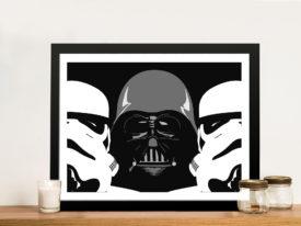 Three Amigos Framed Star Wars Wall Art