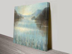 Through the Mist Square Prints