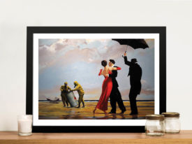 Toxic Beach Framed Wall Art