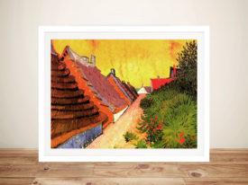 Van Gogh Street in Saintes Maries Framed Picture Art