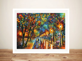 When Dreams Come True Leonid Afremov Wall Picture Artwork