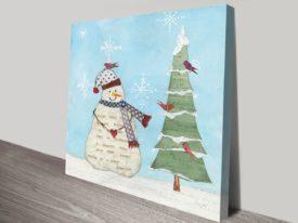 Winter Fun III Artwork | Print on Canvas